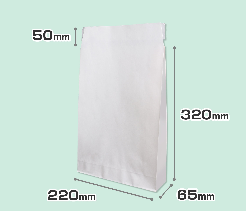 宅配紙袋(晒しクラフト) 小サイズ:のメイン画像