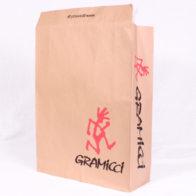 アパレルショップ様で使用されるロゴ入り宅配袋